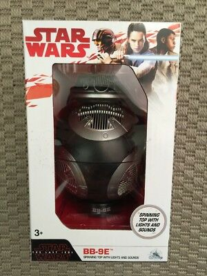 STAR WARS-LAST JEDI-Disney Parks BB-9E DROID With Sounds & Spinning Top