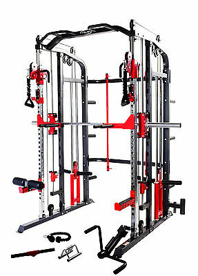 Smith Machine Power Rack Cable Cross Functional Trainer