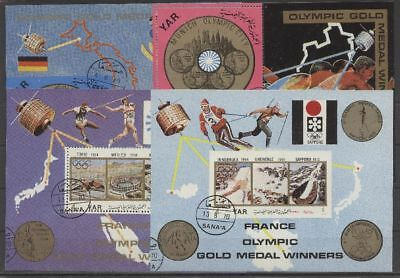 Olympiade 1972, Olympic Games, Sport - LOT gestempelt used 4 Bl.
