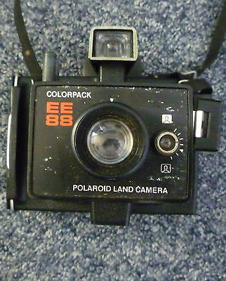 VINTAGE POLAROID LAND CAMERA EE88 Colorpack Ideal for SteamPunk