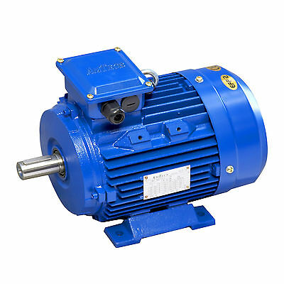 Electric Motor 3KW 1450RPM  4Pole Foot Mount B3 3 Phase