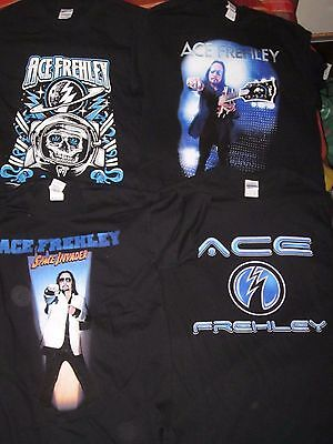 Kiss Ace Frehley 4 X T-Shirts Size Medium Space Invader Australian Tour 2015 New