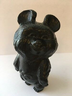 Mishka Misha Bear - Moscow 1980 Olympic Games Mascot - Cast Iron