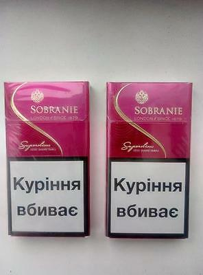 2 x Sobranie London Super SLIMS PINK  2 x 20  (4)