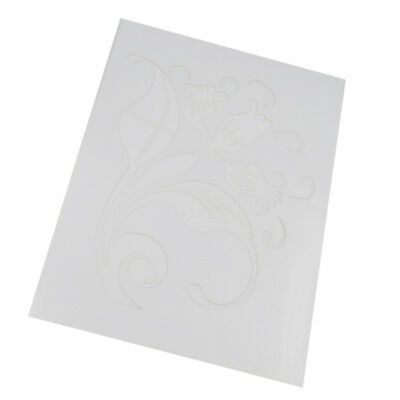 Stencil Pattern Wall Painting Craft Card Ideal Home Decor DIY Template #2