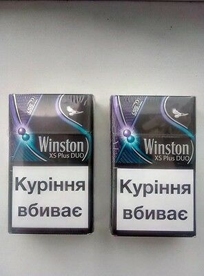 4 X WINSTON Slim Double Click Less Smell 4 X 20  (18)