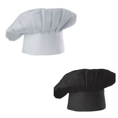 Black Hats Polyester Chef Works Blend Durable Harsh Cooking Stands