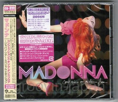 Sealed MADONNA Confessions On A Dance Floor 'Tour'JAPAN CD+DVD WPZR-30184 FreeSH