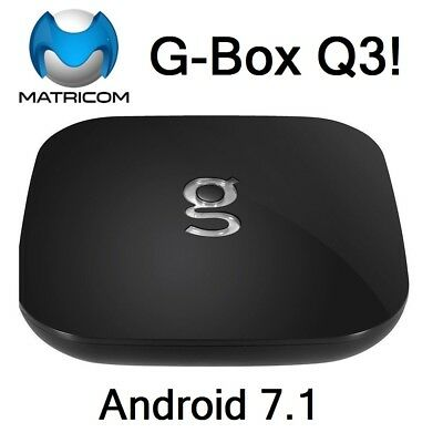 Matricom G-Box Q3 Quad Core Android 7.1 TV Box Q 2GB+16GB 5Ghz Dual Band WiFi 4k