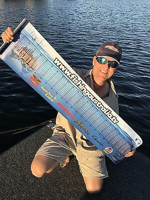 Best Ever Fathers Day Gift! A Signed Fishing Australia Brag Mat Limited Addition