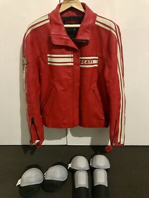 Ducati All Red Original Leather Jacket