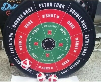 Dartboard 2 in 1 Double Sided Drinking Game Novelty Gift