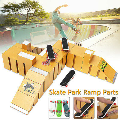 Skate Park Ramp Part For Tech Deck Fingerboard Finger Board Ultimate Park 91-92