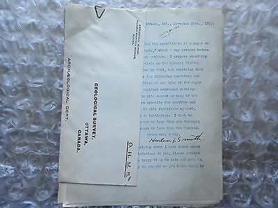 Old 1912 Canada Department of Mines Anthropology Harlan Smith