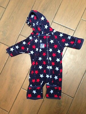 jojo maman bebe 0-3 months All-in-one Polar fleece