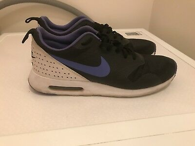 Nike Air Max Tavas Black/Purple Size 9.5