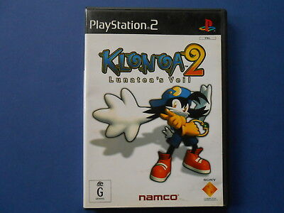 ## Klonoa 2 - Lunatea's Veil - Playstation 2 - Sony Ps2 - Rare **like New