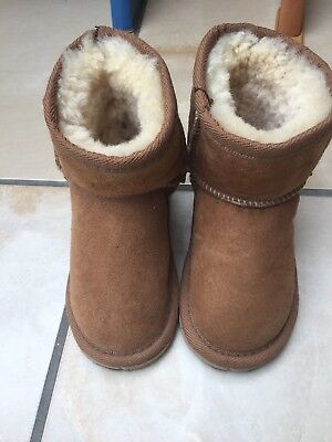Ugg baby boots size 6 1/2-7