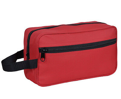 RED Travel Cosmetic Makeup Bag Toiletry Purse Holder Beauty Wash Organizer Pouch