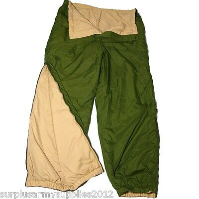 British Army Softie Trousers Reversible Thermal Lightweight Fishing Hiking Cadet
