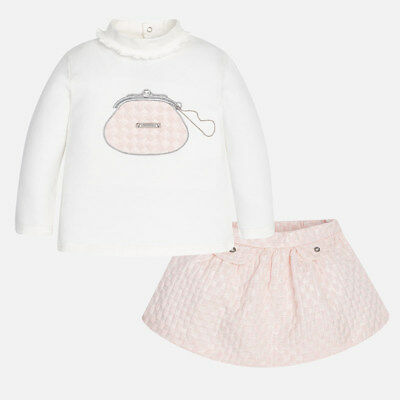 Mayoral Infant Girls Long Sleeved top and skirts set (02957) aged 18,24,36 Mnth