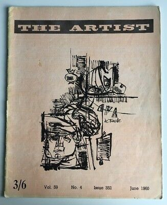 THE ARTIST MAGAZINE Feb 1960 Vintage Great Condition Issue 352