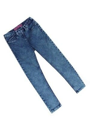 Girls Next Acid Wash Jeggings Blue Years 4 6 8 10 12 14 18