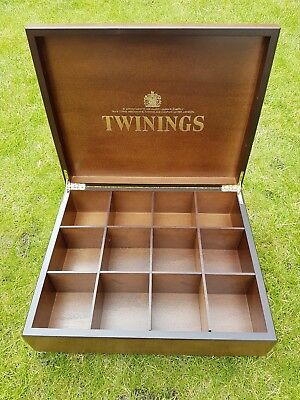 Wooden Twinnings Tea caddy- never used.