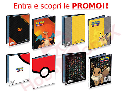 Album POKEMON 4 TASCHE Raccoglitore Carte UltraPRO