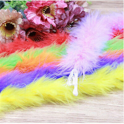 2yards/strip fluffy feather boa super quality marabou feather boa for party
