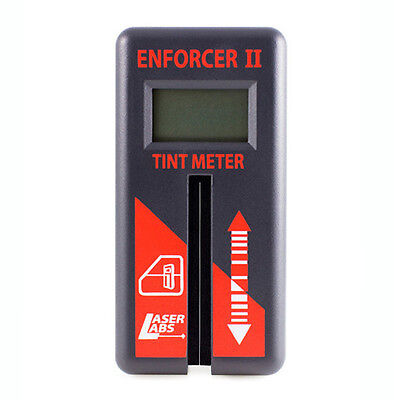 Tint Meter Enforcer II**NEW** Laser Labs one piece meter for roll-down windows