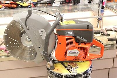 HUSQVARNA K760 CONCRETE CUT-OFF SAW 14 INCH W/H20 Line 2016