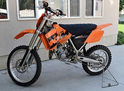 2004 KTM SX  2004 KTM 105 with tall seat and bar risers
