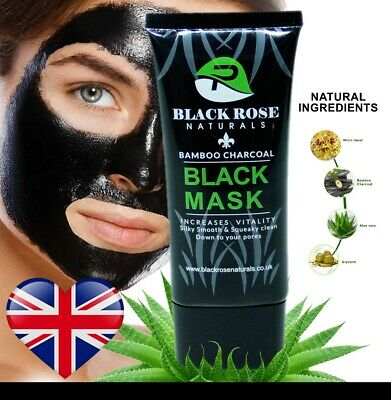 Charcoal Blackhead Remover Peel Off Facial Cleaning Black Face Mask Aloevera