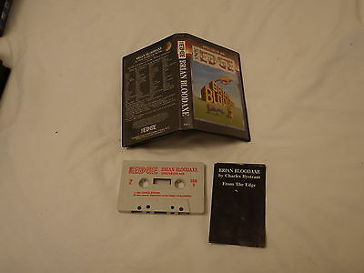 Sunday Flood Of Quality ZX Spectrum Software:- The Edge Braiin Bloodaxe + Inst.