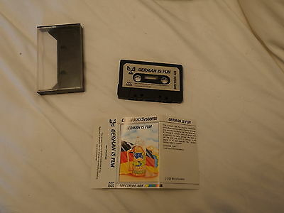 Sunday Flood Of Quality ZX Spectrum Software:- CDS German is Fun
