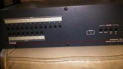 Extron CrossPoint 300 Matrix Switcher With ADSP