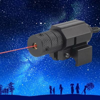 New 650nm Remote Control Red Laser Sight Set Focusing and Positioning Outdoor