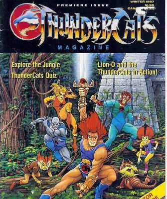 Thundercats Comic & Annual Collection Compilation on DVD US & UK Comics