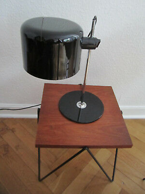 OLUCE COUPE 2202 60er Lampe Tischleuchte  JOE COLOMBO Italy-Design 60s desk lamp