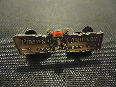 Disney Pirates Of The Caribbean At World's End Banner Gwp Pin