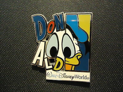 Disney Wdw Colorful Character Donald Duck Pin