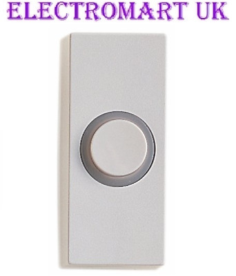 Door Bell Chime Bell Push Press Button White