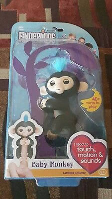!!AUTHENTIC!!!BNIB!! WOwWEE FINGERLING BLACK FINN SOLD OUT!!! HTF