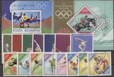 Olympiade 1972, Olympic Games, Sport - LOT gestempelt used
