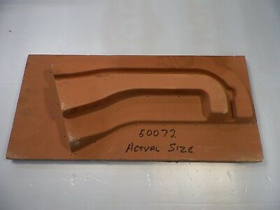 Factory Right Ramp Mold For Williams Pin2000 Wizard Blocks Prototype Pinball