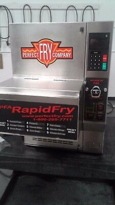 Perfect Fry PFA7200  (wells giles autofry fryer ventless)