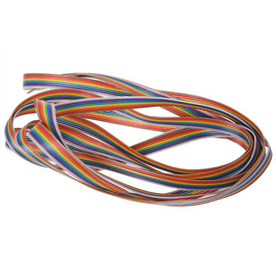 SS 10ft 8 Pin Flexible Flat IDC Ribbon Cable 1.27mm Pitch