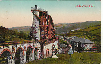 The Wheel & Bystanders, LAXEY, Isle Of Man
