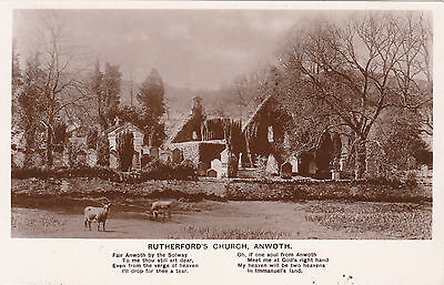 Rutherford's Church, ANWOTH, Kirkcudbrightshire RP